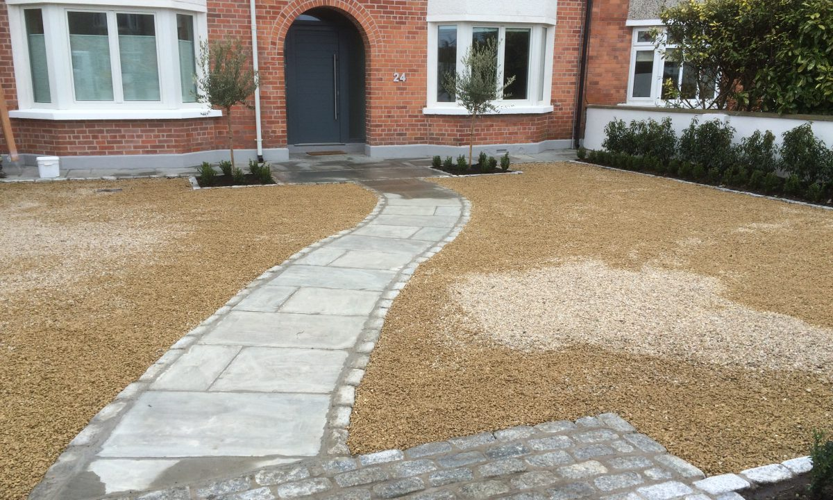 contemporary garden terenure